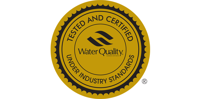 Water Quality Association Gold Seal Certificate